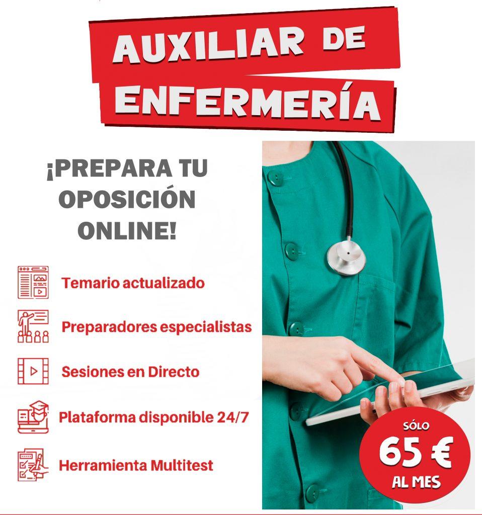 Auxiliar de Enfermería del SCS