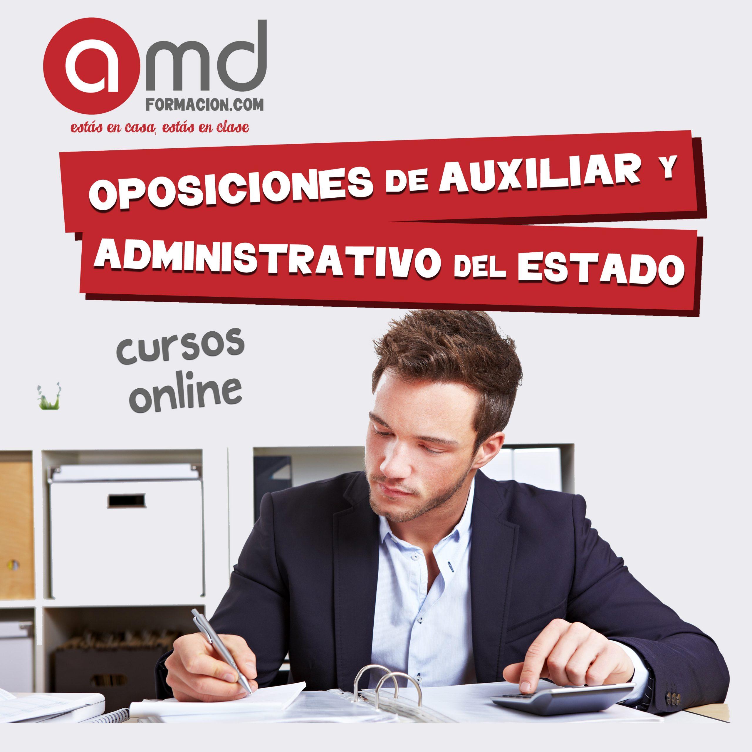 Auxiliar y Administrativo del Estado Online