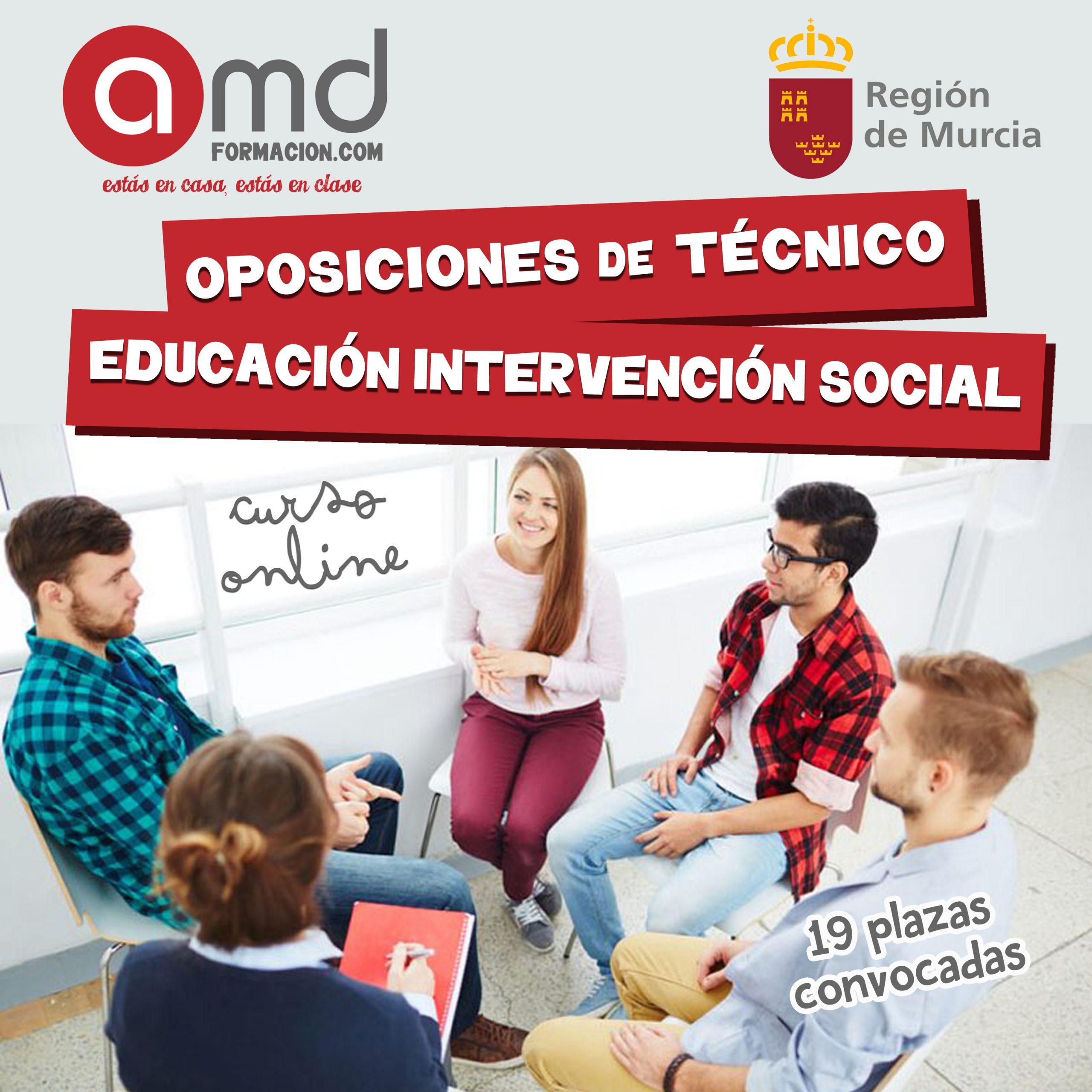 Técnico Edución Intervención Social Murcia